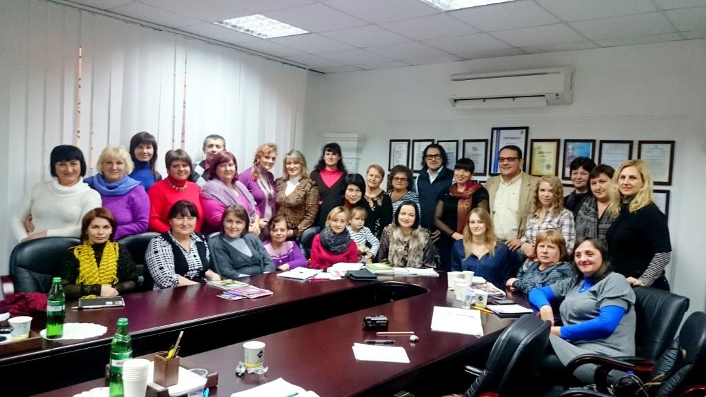 На семинар известных психологов и консультантов Виталия и...
