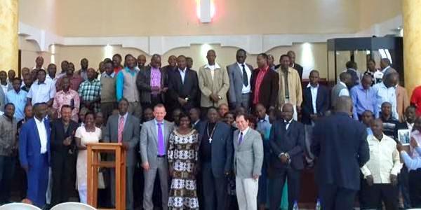 Студенты Библейского колледжа в Кении