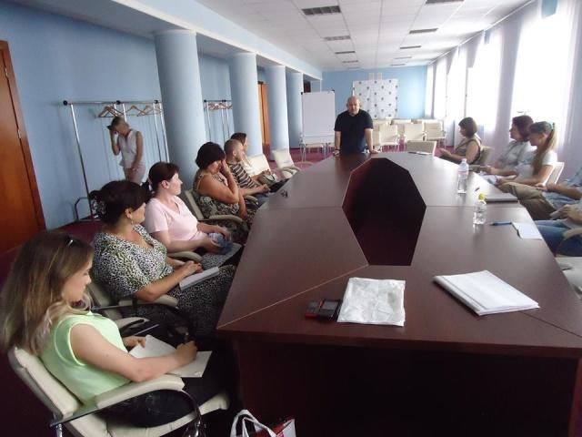 Игорь Алфёров, семинар Вышгородская администрация