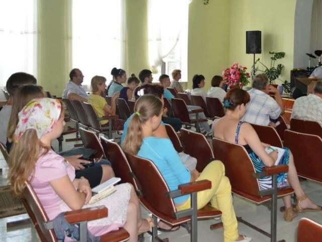 Мир Дому Вашему семинар в Чернигове