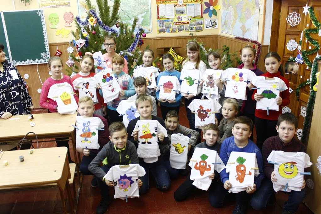 Мир Дому вашему, акция Дети - детям, рисунки, как разрисовать фетболку, русунок на футболке